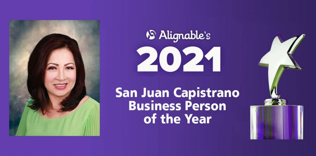 San Juan Capistrano Business Person of the Year 2020-2021